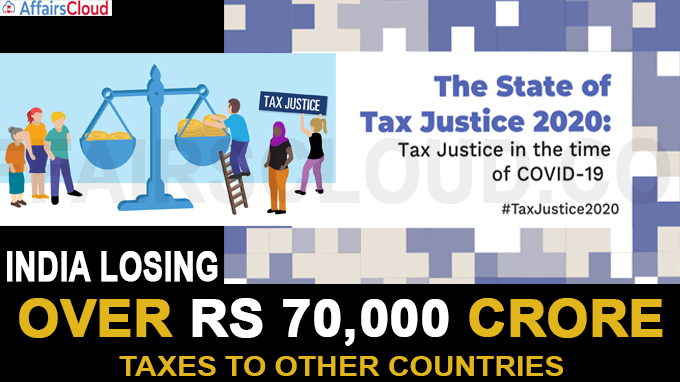 India losing over Rs 70,000 crore in taxes to other countries