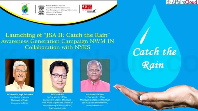 JSA II Catch the Rain Awareness Generation Campaign