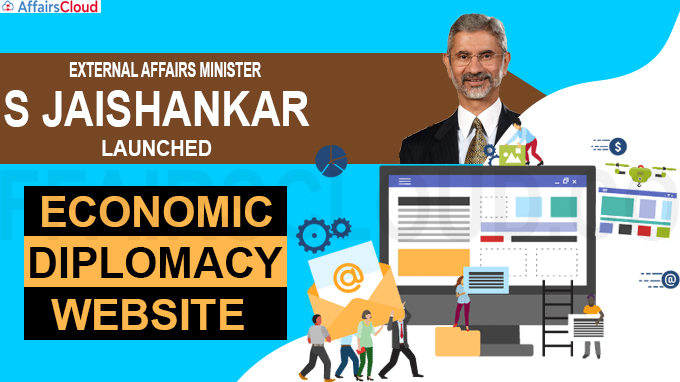 Jaishankar launches economic diplomacy website