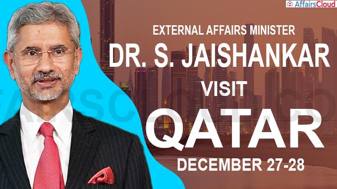 MEA S Jaishankar to visit Qatar