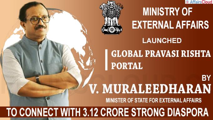 MEA launches Global Pravasi Rishta portal and app
