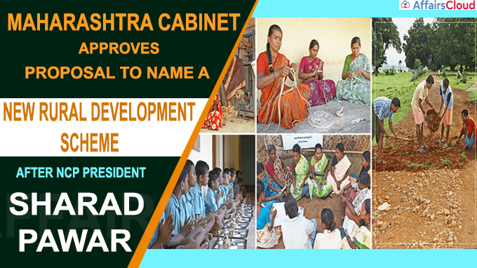 Maharashtra cabinet approves proposal to name a new rural development scheme