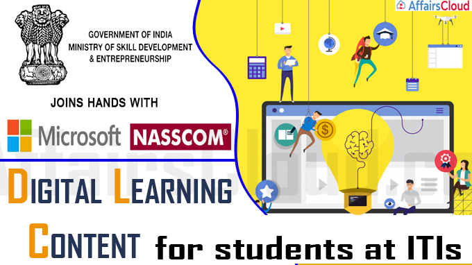 Ministry of skills development joins hands with Microsoft and NASSCOM