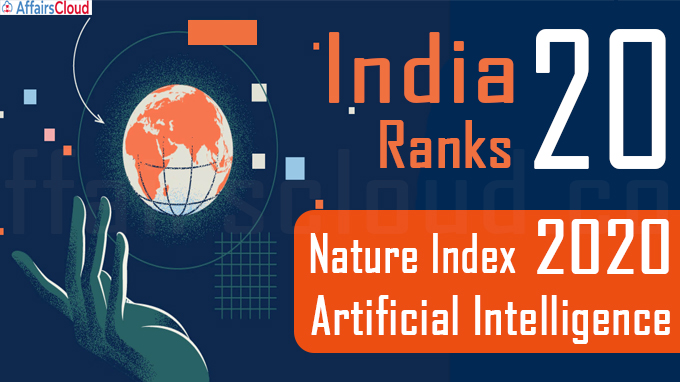 Nature Index 2020 Artificial Intelligence