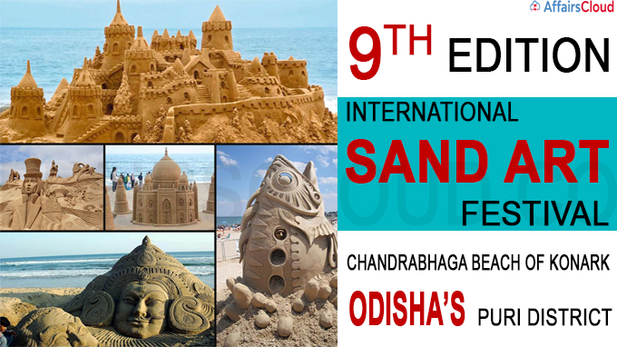 Ninth edition of International Sand Art Festival