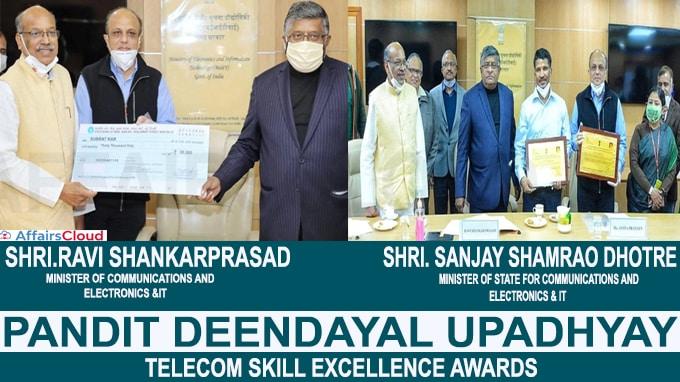 Pandit Deendayal Upadhyay Telecom Skill Excellence Awards