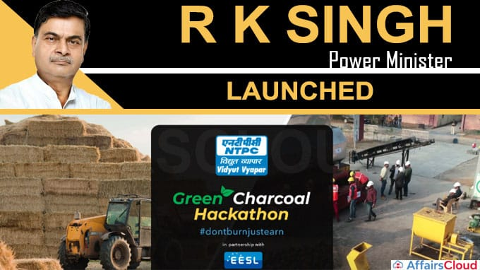 Power minister launches Green Charcoal Hackathon
