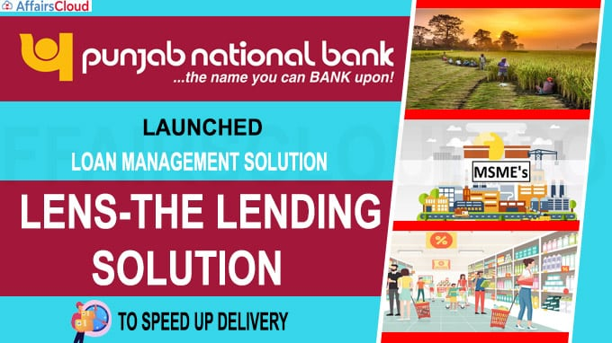 Punjab National Bank launches LenS-The Lending Solution