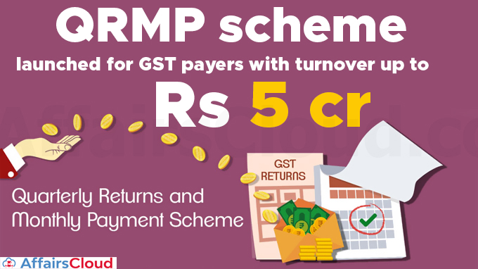 QRMP-scheme-launched-for-GST-payers-with-turnover-up-to-Rs-5-cr