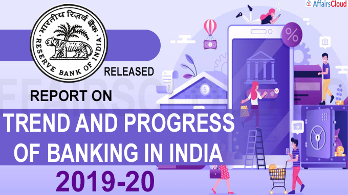 RBI's releases report on Trend and Progress of Banking