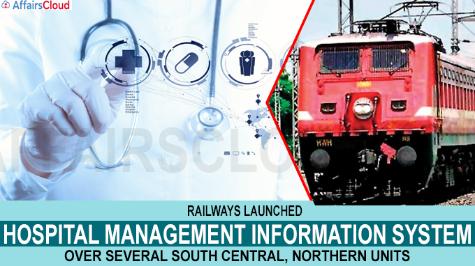 Railways launches hospital management information system