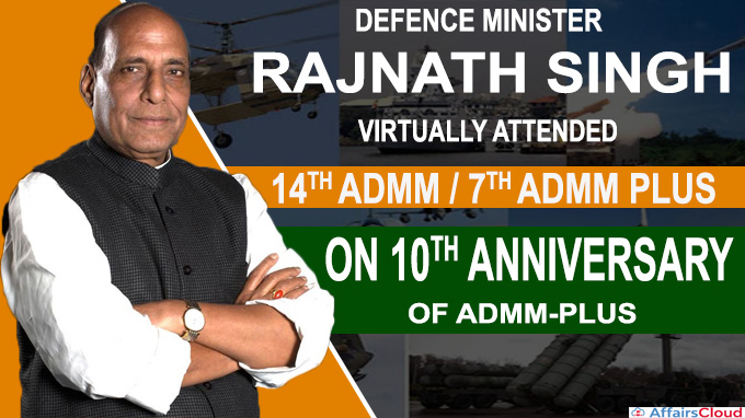 Rajnath Singh attended the 10th anniversary of the ADMM-Plus new