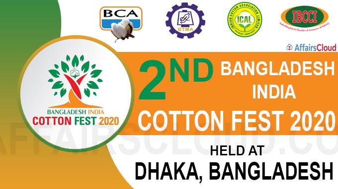 Second Bangladesh-India Cotton Fest 2020