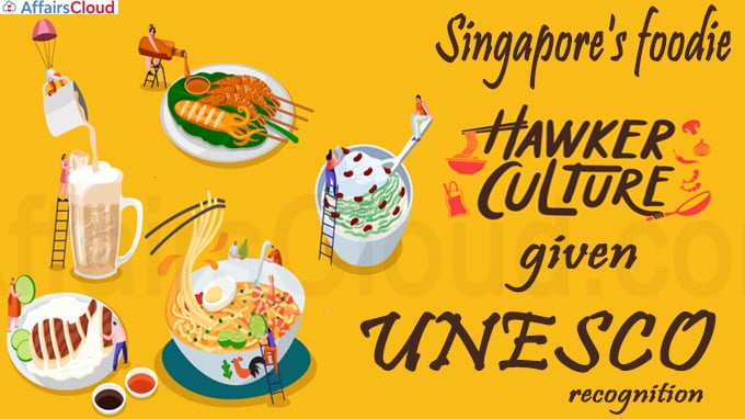 Singapore's foodie hawker culture given UNESCO recognition