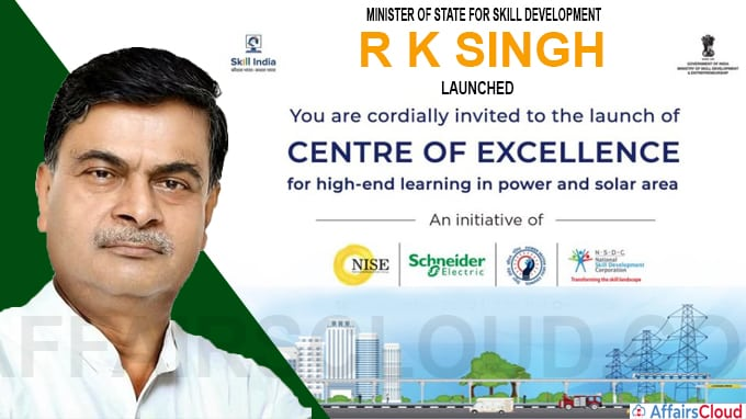 Skill India Establishes First Centre of Excellence for Skill Development