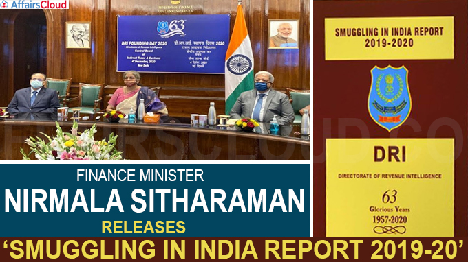 Smuggling in India Report 2019-20