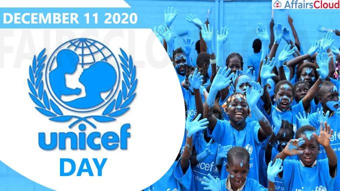 UNICEF Day - December 11 2020