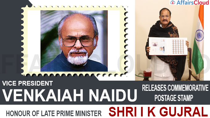 Vice President releases commemorative postage stamp