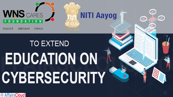 WNS partners Niti Aayog to extend education on cybersecurity