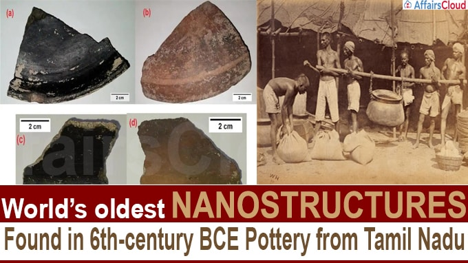 World's oldest nanostructures found in 6th-century BCE pottery from Tamil Nadu