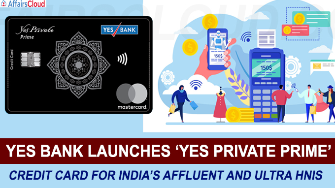 YES BANK launches Yes Private Prime