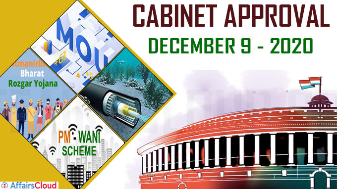 cabinet approval on december 9