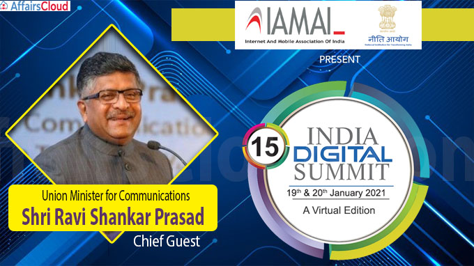 15th India Digital Summit 2021