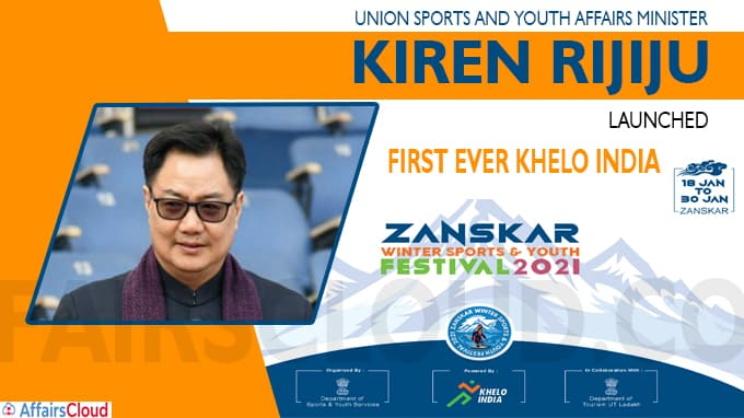 1st Khelo India Zanskar Winter Sports Festival begins in Ladakh