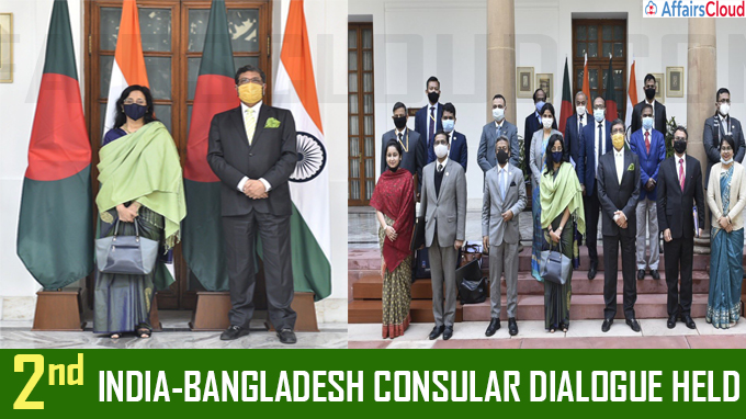 2nd India-Bangladesh Consular Dialogue held