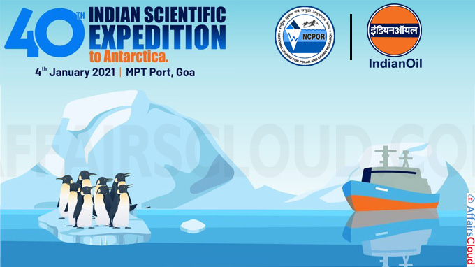 40th Indian scientific expedition to Antarctica launched