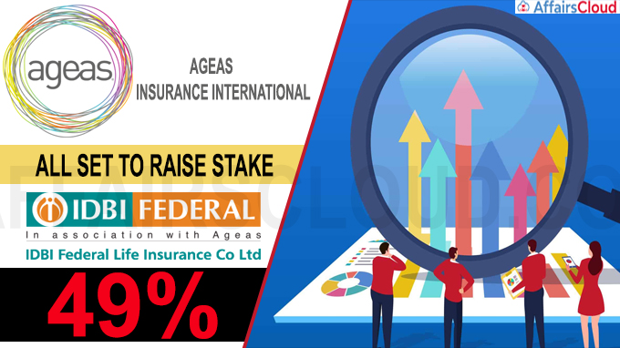 Ageas Insurance International all set to raise stake in IDBI Federal Insurance