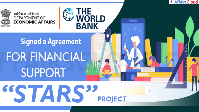 Agreement for financial support to STARS project