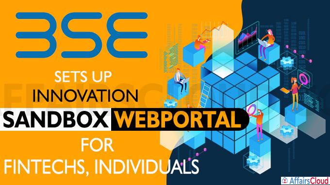 BSE sets up innovation sandbox web portal