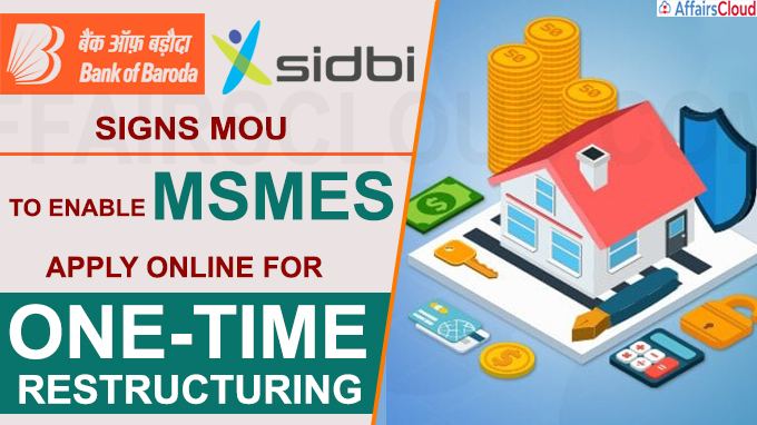 BoB signs MoU with SIDBI to enable MSMEs