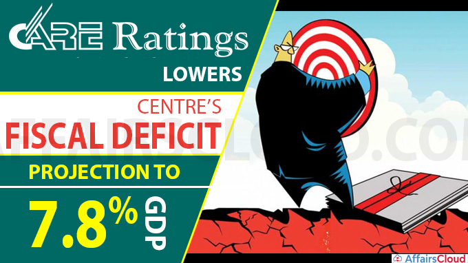 CARE lowers Centre's fiscal deficit projection