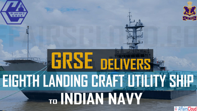 GRSE delivers eighth landing