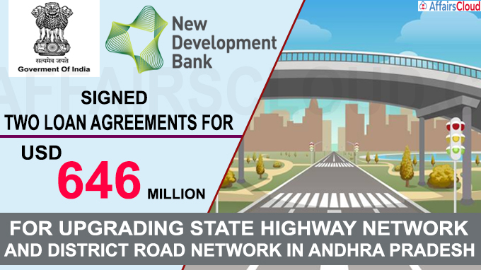 Government of India & NDB sign two loan agreements for USD 646 million