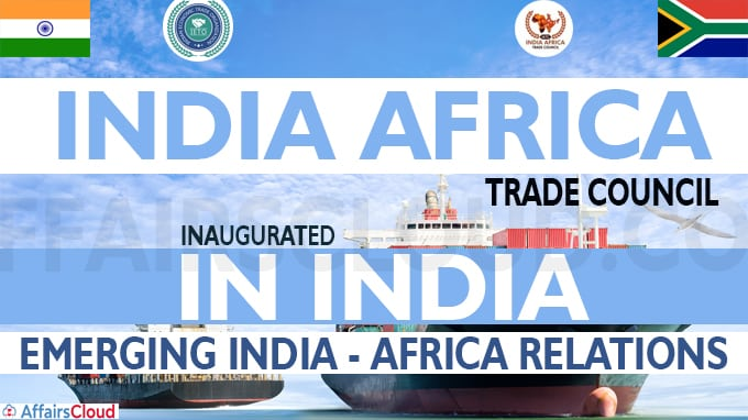India Africa Trade Council inaugurated in India