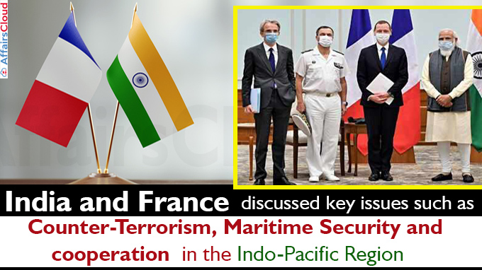 India France discuss counter-terrorism