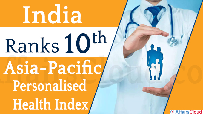 India ranks 10th in Asia-Pacific Personalised Health Index