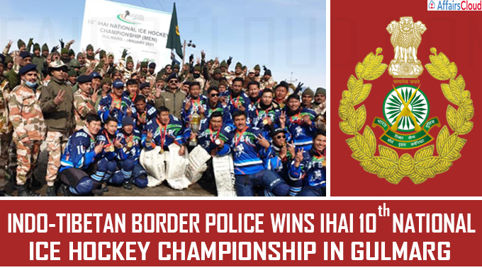 Indo-Tibetan Border Police wins IHAI National Ice Hockey Championship in Gulmarg