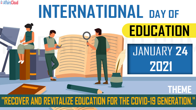 International Day of Education - January 24 2021