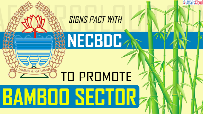 J&K govt signs pact with NECBDC