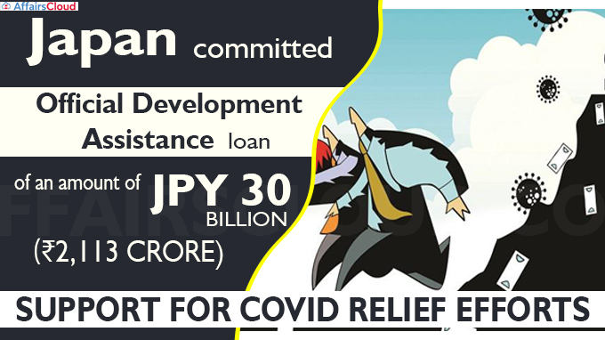 Japan commits ₹2,113 cr support for Covid relief efforts