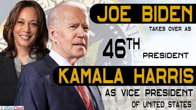 Joe Biden takes over as 46th President