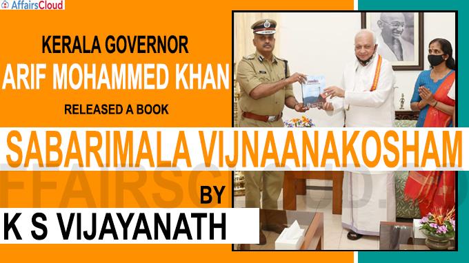 Kerala Governor released a book ''Sabarimala Vijnaanakosham