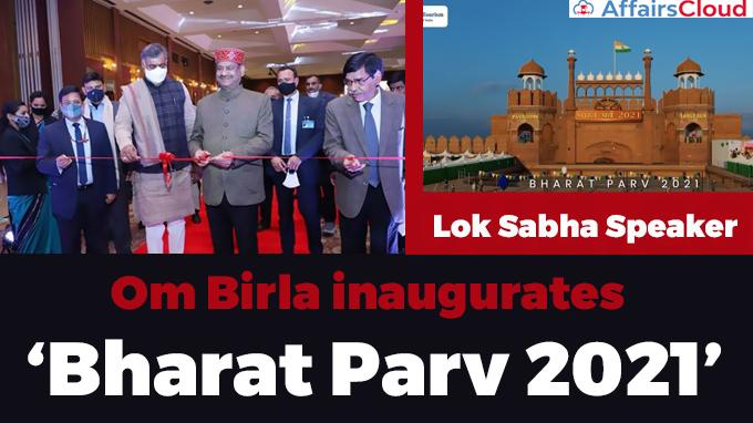 Lok-Sabha-Speaker-Om-Birla-inaugurates-'Bharat-Parv-2021