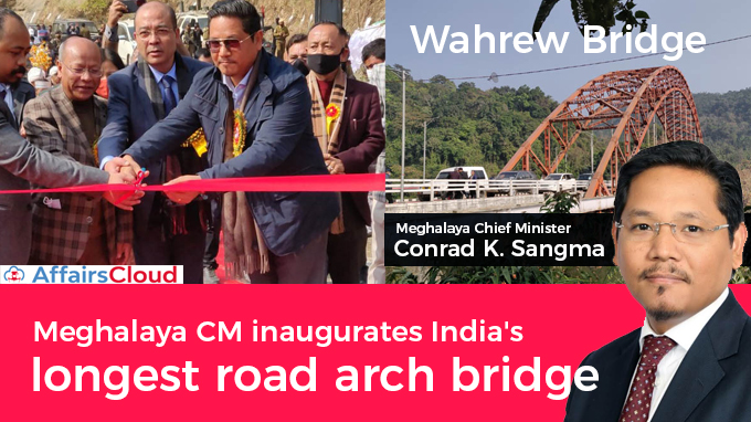 Meghalaya-CM-inaugurates-India's-longest-road-arch-bridge