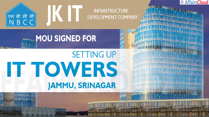 MoU Signed For Setting Up IT Towers In Jammu, Srinagar