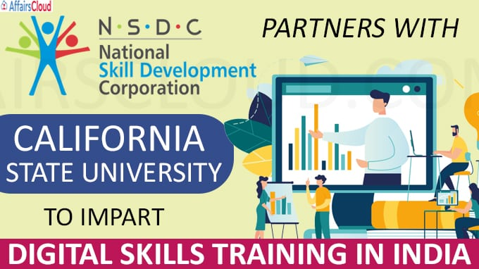 NSDC partners with California State